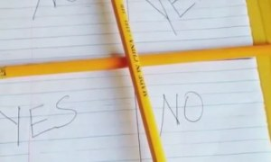 Stay Away From Charlie Charlie Challenge
