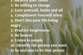 10 Ways To Be a Better Person