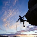 Facing and overcoming the different mountains in our lives