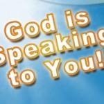 How God speks to us