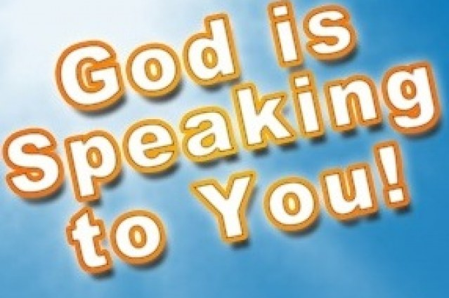 God is a speaking God, but how does God speak to us today?