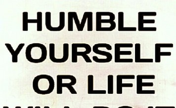 What does it mean to be humble?