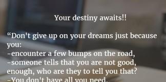 quotes on dreams